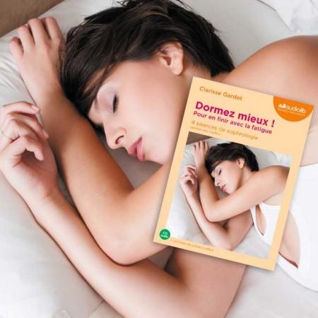 photo du livre de sophrologie pour mieux dormir de clarisse gardet
