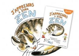 illustration j'apprends à être zen avec la méditation