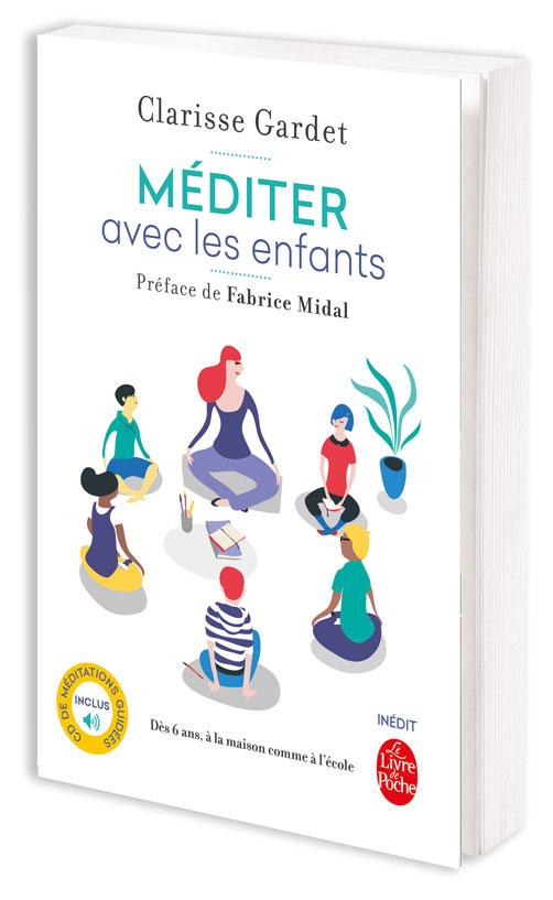 Photo du livre de Clarisse Gardet, Méditer avec les enfants