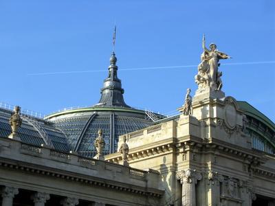 photo du grand palais à paris pour des séances de méditation liées à l'art