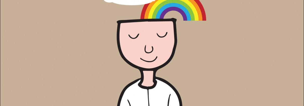 illustration enfant et méditation